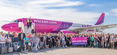 15 years Wizz Air at Katowice Airport