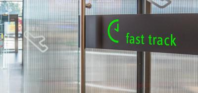 Fast Track v Terminálu A