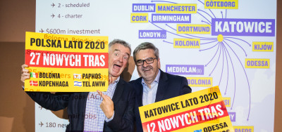 Ryanair is developing its network at Katowice Airport