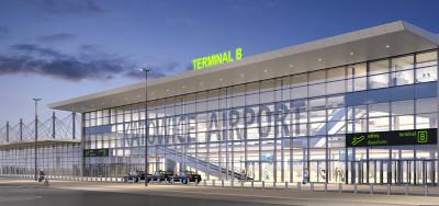Verkehrsbehinderungen auf Grund des Umbaus des Passagierterminals B